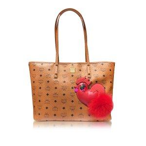 MCM New Year Series Ew Medium Shopping Bag at FORZIERI