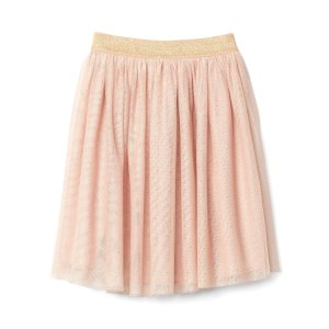 Shimmer tulle midi skirt | Gap