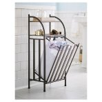 $28 Threshold Metal Hamper with Linen Insert - Oil Rubbed Bronze