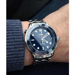 Omega Seamaster Automatic Blue Dial Men's Watch 212.30.41.20.03.001 - Seamaster - Omega - Watches - Jomashop