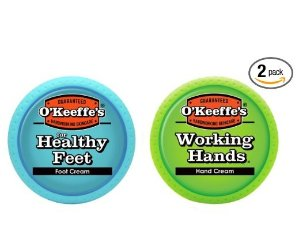 $10.6O'Keeffe's Working Hands & Healthy Feet Combination Pack of Jars