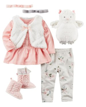 Up to 60% Off + Extra 25% off $40Baby and Kid's Apparel @ Carter's