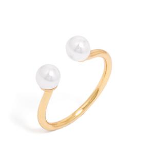 Gemini Pearl Ring | BaubleBar