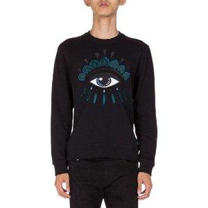 Kenzo Embroidered Eye Icon Sweatshirt