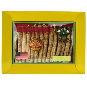 Long American Ginseng Medium 4oz Box