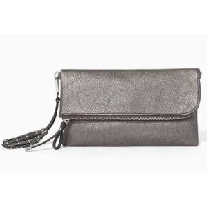 STACEY FOLDOVER CLUTCH