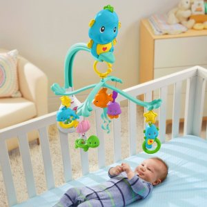 Fisher-Price® 3-in-1 Soothe & Play Seahorse Mobile | DFP12 | Fisher Price