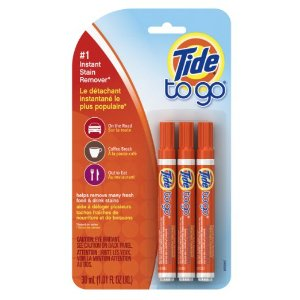 $4.38 Tide To Go Instant Stain Remover Liquid Pen, 3 Count