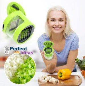 $10.64 Perfect Life Ideas Soft Food Garlic Press Mini Chopper Mincer Slicer Dicer Grater Miniature Alligator Chopper Press