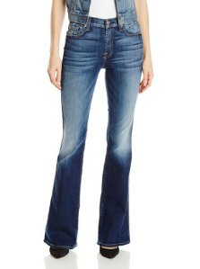From $39.61 7 For All Mankind Women's Vintage Boot Cut Jean In Bright Indigo Stretch