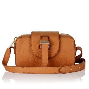 meli melo Women's Micro Box Cross Body Bag - Tan - Free UK Delivery over £50