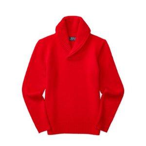 Cashmere Shawl-Collar Sweater - Sweaters � Big Kid (sizes 8-20) - RalphLauren.com