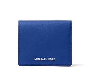 MICHAEL Michael Kors Jet Set Travel Leather Carry All Card Case @Lord & Taylor