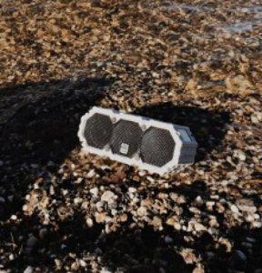 Altec Lansing iMW577 Life Jacket 2 Bluetooth Wireless Speaker Grey