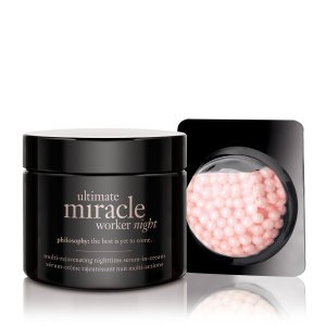 ultimate miracle worker | night cream | philosophy new!
