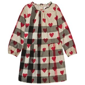 Burberry Classic Check and Heart Print Dress | AlexandAlexa