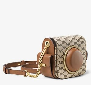 $139(Org. $278)MICHAEL Michael Kors Scout Medium Heritage Logo Camera Bag