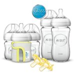 Philips AVENT Natural Glass Bottle Gift Set