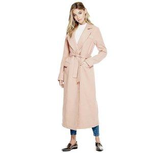 Harper Long Coat | GUESS.com