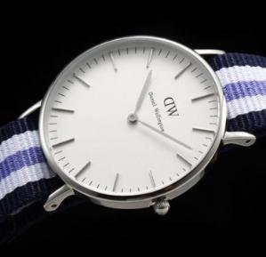 $10 Off $100 Daniel Wellington Women's Trinity Silver Watch @ Amazon