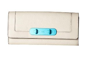 $99COACH Carabiner Hardware Swagger Coach Slim Envelope