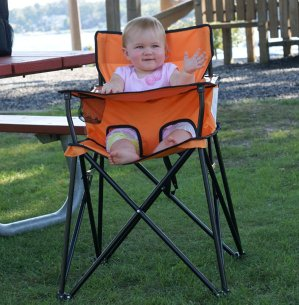 $46.79 ciao! baby Portable Highchair, Orange