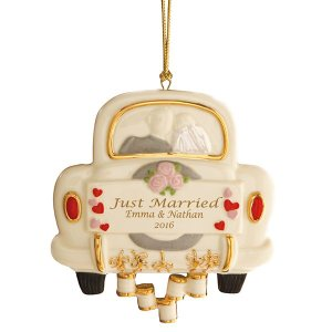 Just Married Wedding Ornament by Lenox