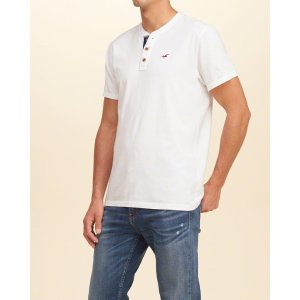 Guys Must-Have Henley | Guys Clearance | HollisterCo.com