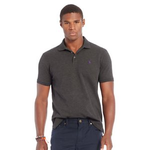 Custom-Fit Stretch Mesh Polo - Custom Fit  Polo Shirts - RalphLauren.com