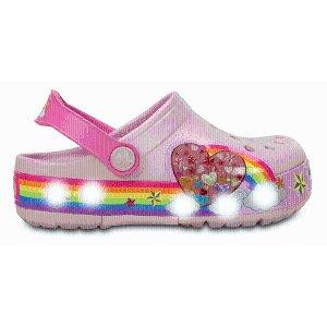 Kids' CrocsLights Rainbow Heart Clog | Kids' Clogs | Crocs Official Site