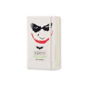 Moleskine 2017 Batman Daily Pocket Planner, Hard Cover, White, 3.5 x 5.5 in. | Jet.com