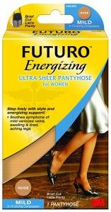 Futuro Ultra Sheer Pantyhose for Women, Nude