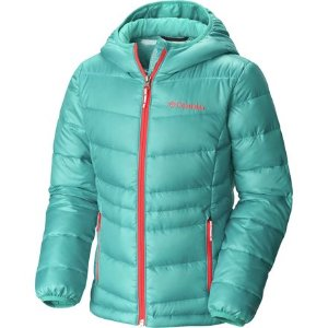 Columbia Gold 550 Turbodown Hooded Down Jacket - Girls' - Up to 70% Off   Steep and Cheap