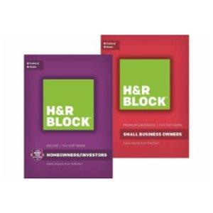 五折(低至$17.49) H&R Block 税务软件
