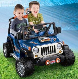 Prime Member Only! Fisher-Price Power Wheels Hot Wheels Jeep Wrangler