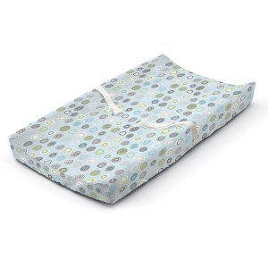 Summer Infant Ultra Plush Changing Pad Cover, Blue Swirl