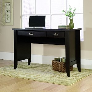 $81.08 Sauder Shoal Creek Computer Desk, Jamocha Wood Finish