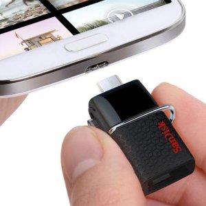 $27.78 SanDisk Ultra 128GB Dual USB Drive 3.0