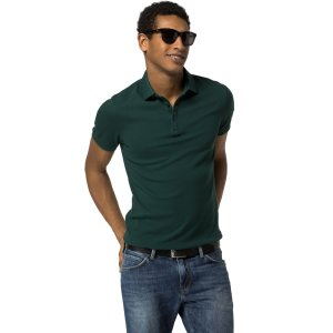 Slim Fit Solid Polo | Tommy Hilfiger USA
