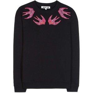 MCQ ALEXANDER MCQUEEN Embroidered cotton sweater