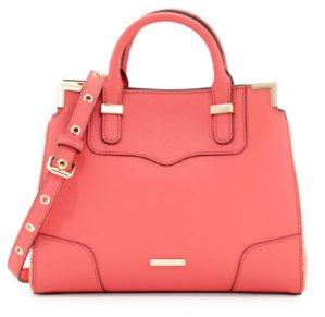 Rebecca Minkoff Amorous Small Saffiano Satchel Bag