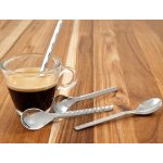 WMF Type Espresso Spoons 4.25-Inch Silver Set of 4