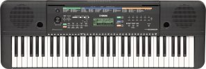 Yamaha PSR-E253 Portable 61 Key Keyboard with LCD Display, No Power Adapter