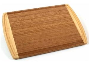 $8.42 Totally Bamboo Kona Groove Cutting Board @ Amazon