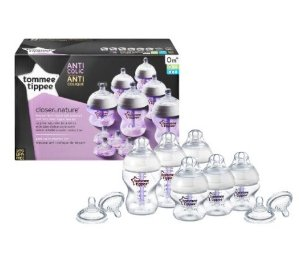 Lowest price! $16.06 Tommee Tippee Closer to Nature Anti-Colic Starter Kit