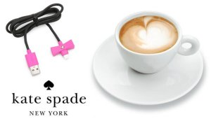 kate spade new york USB Charge-and-Sync Cable