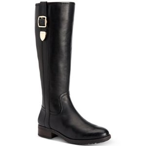 COACH Easton Wide Calf Tall Riding Boots - Boots - Shoes - Macy's
