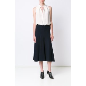Black/Muslin - Victoire Sleeveless Blouse