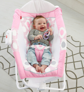 Fisher-Price Newborn Rock 'n Play Sleeper, Pink Ellipse