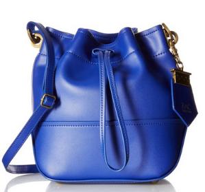 $92.63 ZAC Zac Posen Eartha Envelope Mini Drawstring Bucket Bag